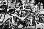 CL145 (2) Racked Bikes